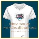 Pop Music Fabric Iron-on