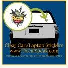 Reggae Music Clear Car/Laptop Sticker