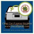 Dank Clear Car/Laptop Sticker