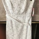 LILLY PULITZER WHITE  EYELET DRESS  SIENNA   STRAPLESS NEW WITH TAGS $258 SIZE 6