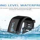 Black Smart Watch OLED Touch Screen Waterproof Health Wristband