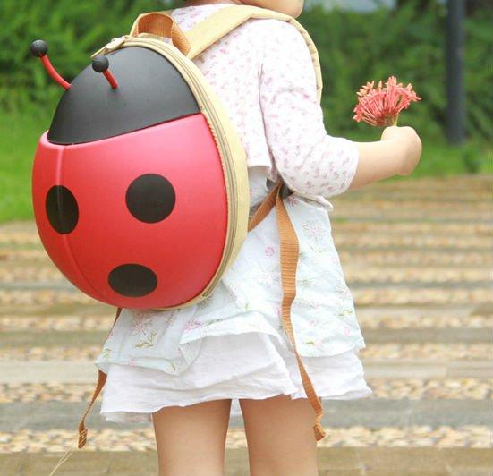 Kids Ladybug Backpack - Red
