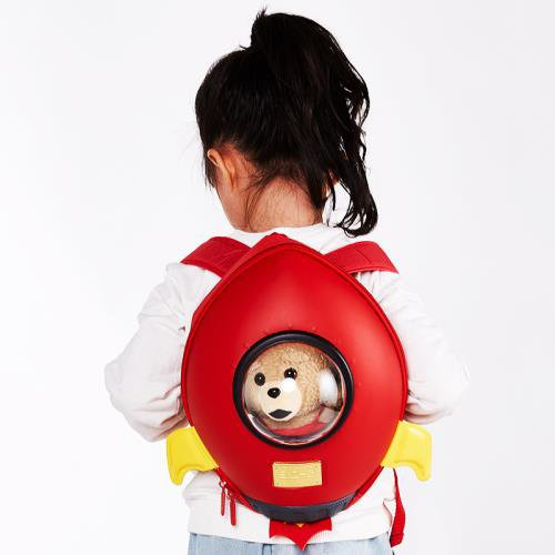 Red Rocket Backpack for Kids