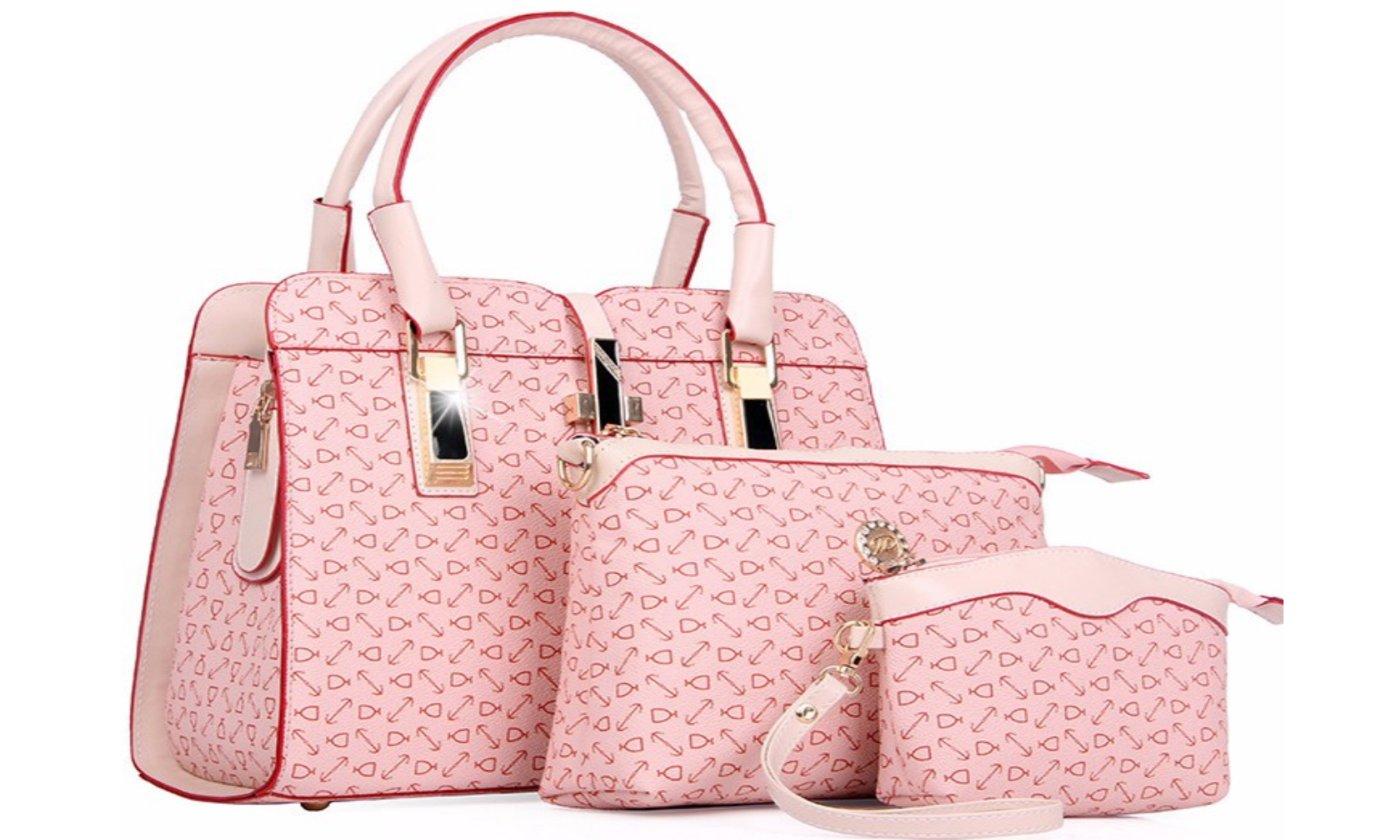 3 piece Luxury Handbag Set