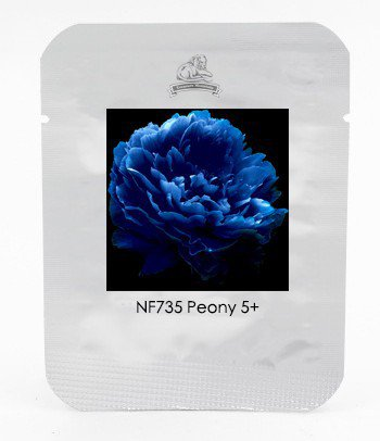 Very Rare 'Luo Yang' Dark Blue Tree Peony Flower Seeds, Professional Pack