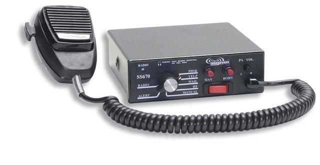 Signal Vehicle SS670 Compact 100 Watt Siren