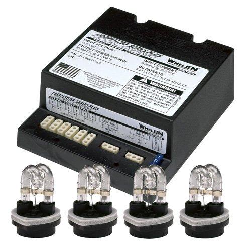 Whelen 90W Power Supply & 4 Strobe Kit