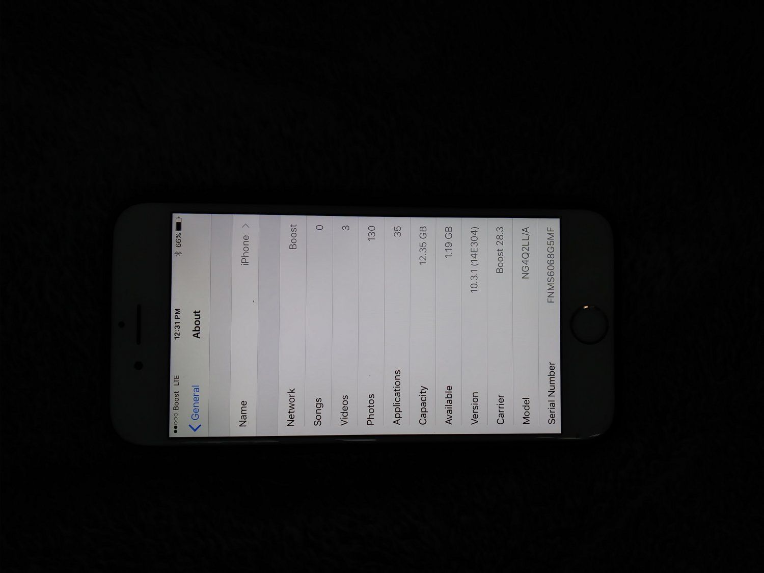 Iphone 6 gold 16gb (boost mobile)