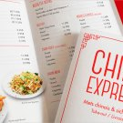 Take Out Menu Full Design for JUMBO