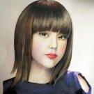portrait d'une chinoise traditionnelle