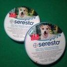 2 X Bayer Seresto Flea & Tick Collar for Small Dogs under 8kg (18 lbs)