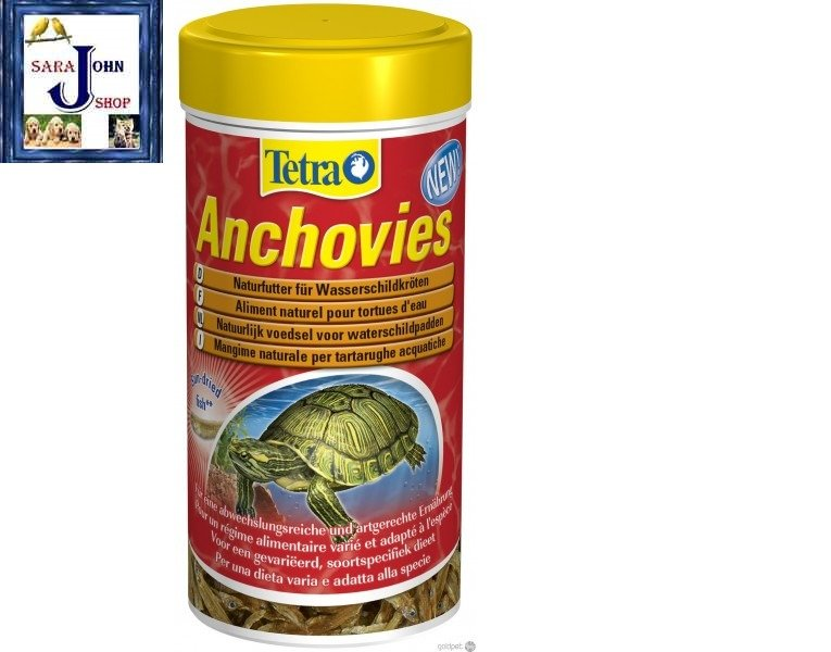 TETRA Anchovies*250ml* Natural food for turtles