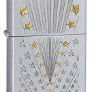 Zippo Lighter 28277 Flag Stain Chrome 041689282776