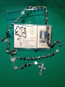 Commemoration Rosary of the Centennial of the Apparitions of Fatima � Marbled