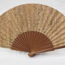 Hand Fan Girl Lady Women´S Natural Cork Genuine Portuguese