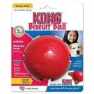 KONG Biscuit Ball Dog Toy- Small- Red