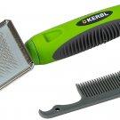 Kerbl Soft Slicker Brush For Rabbit 16 X 6 Cm
