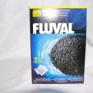 FLUVAL CARBON 300g Ext. Filter Media Aquarium Fish Tank Activated 3x100g(3.52oz)