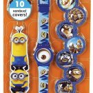 KIDS DIGITAL WATCH MINIONS WITH 10 CAPS
