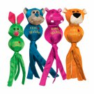 KONG Wubba Ballistic Friends For Dogs & Puppies - Small, Large - Fetch Tug