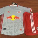 NY Red Bulls 2019 Primary Soccer Jersey Kids Soccer Uniform Stadium Shirt