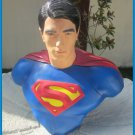 Custom Made Life Size Brandon Routh Superman Superhero Bust Figure Prop
