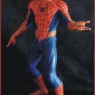 Custom Made Life Size Tobey Maguire Spiderman Spinning Web Superhero Statue Prop