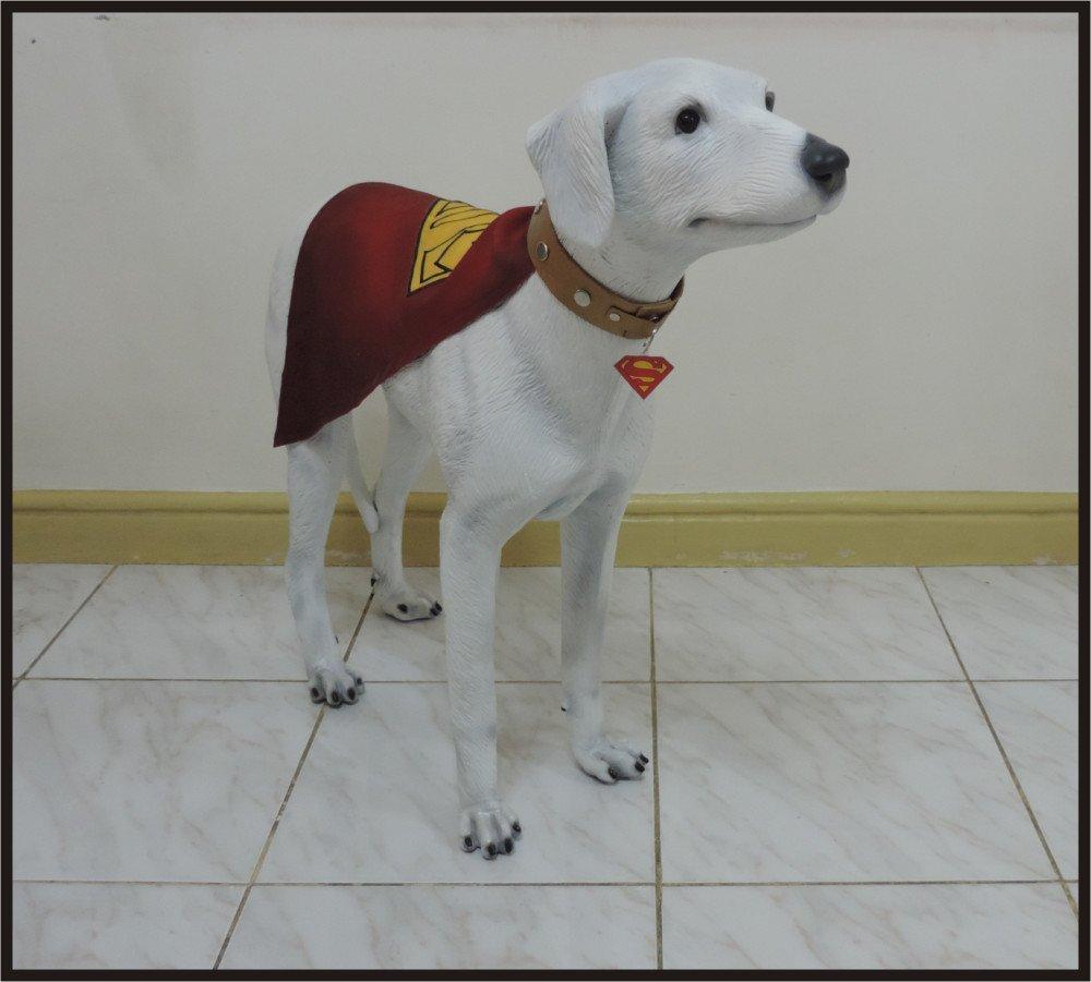 Custom Made Life Size Classic Superdog Krypto Superhero Statue Prop