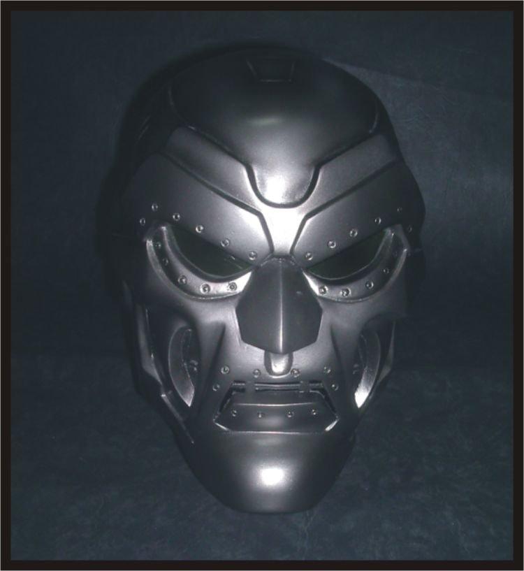 Custom Made Dr. Doom Life Size Helmet Superhero Prop