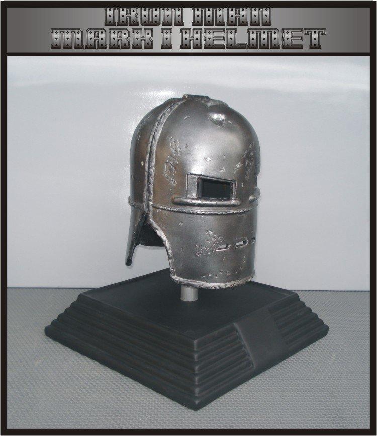 Custom Made Iron Man Mk1 Life size Helmet  Superhero Prop