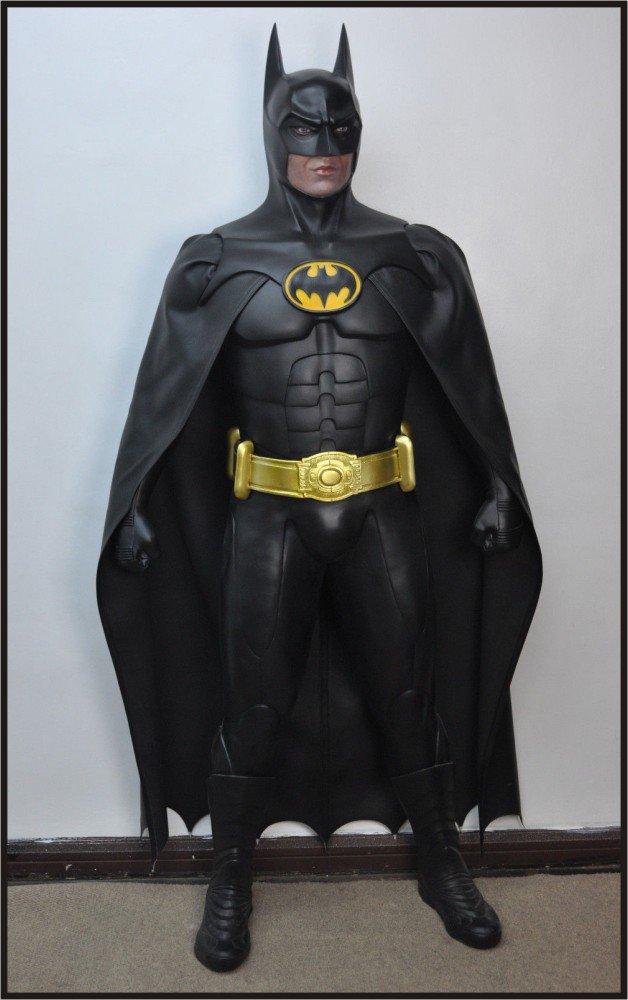 Custom Made Life Size Michael Keaton Batman Returns Superhero Statue Prop
