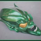 Custom Made Spiderman 2002 Willem Dafoe Green Goblin Life size  Helmet Superhero Prop
