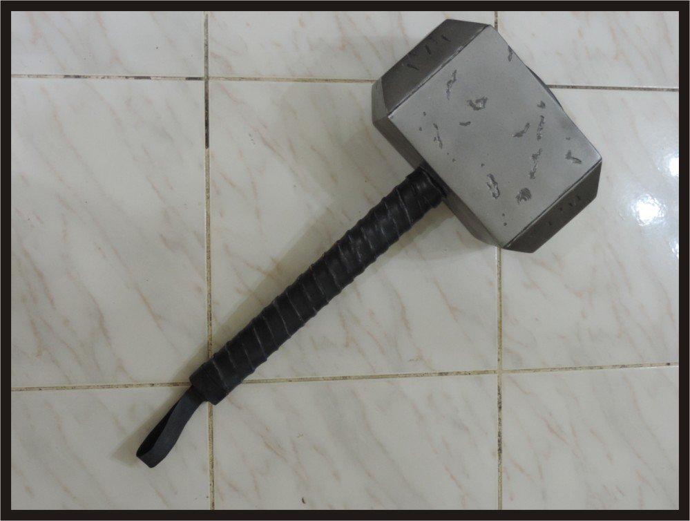 Custom Made Classic Thor's Hammer Mjolnir Life Size Superhero Prop