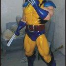 Custom Made Life Size wolverine #3 Superhero Statue Prop
