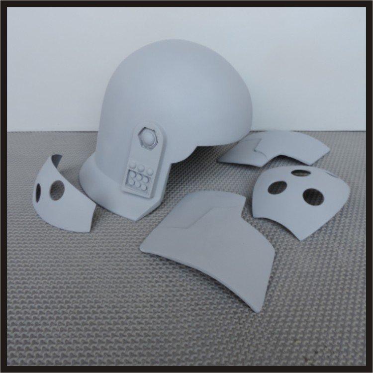 Custom Made Star Wars  Rebels Agent Kallus Life Size Helmet Prop Kit
