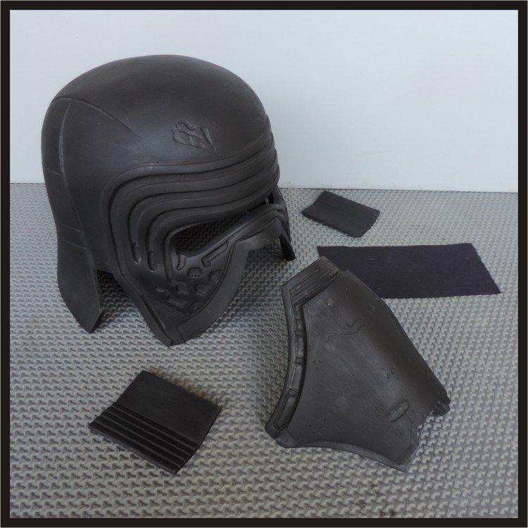 Custom Made Star Wars The Force Awakens Kylo Ren Wearable Life Size Helmet Prop Kit