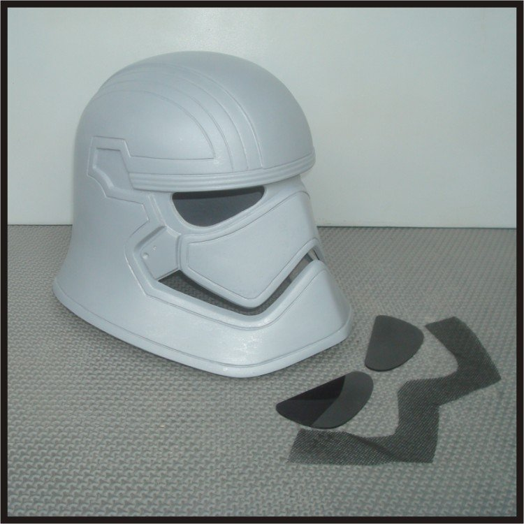 Custom Made Star Wars The Force Awakens Captain Phasma Wearable Life Size Helmet Prop Kit