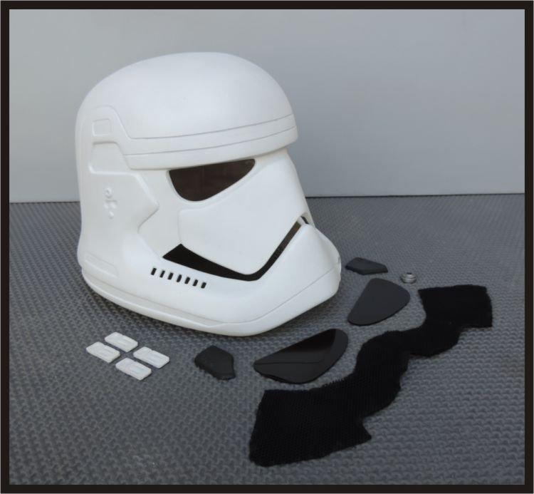 Custom Made Star Wars The Force Awakens Stormtrooper Wearable Life Size Helmet Prop Kit