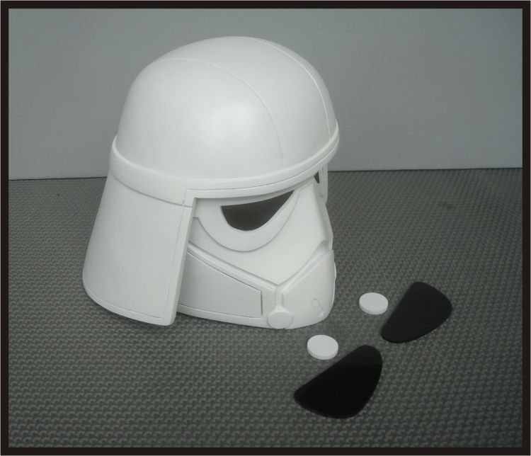 Custom Made Star Wars Rebels At-Dp Driver Wearable Life Size Helmet Prop Kit