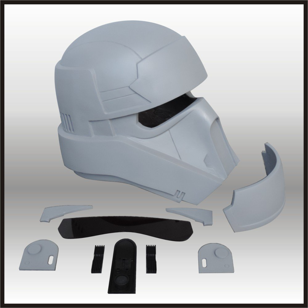 Custom Made Star Wars Rogue One/1 Scarif Stormtrooper/Shoretrooper Life Size Helmet Prop Kit