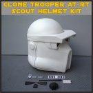 Custom Made Star Wars Clone Trooper AT-RT Life Size Helmet Prop Kit
