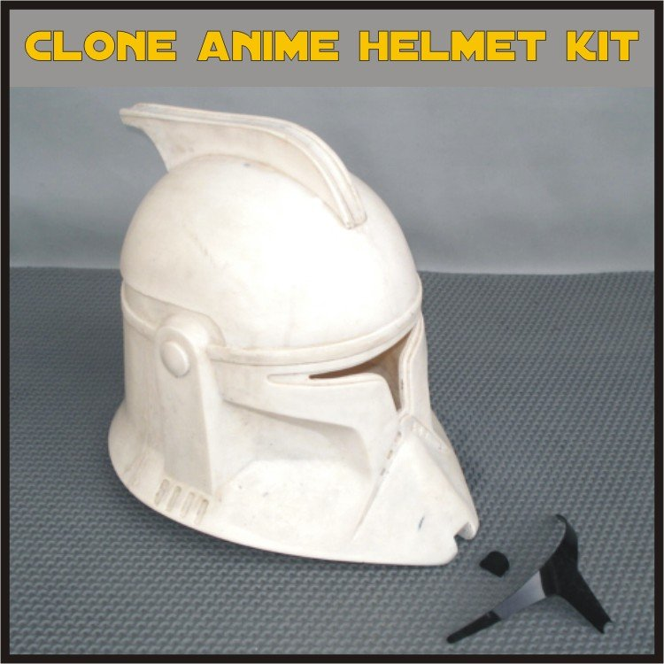 Custom Made Star Wars Clone TCW Anime Infantry Life Size Helmet Prop Kit