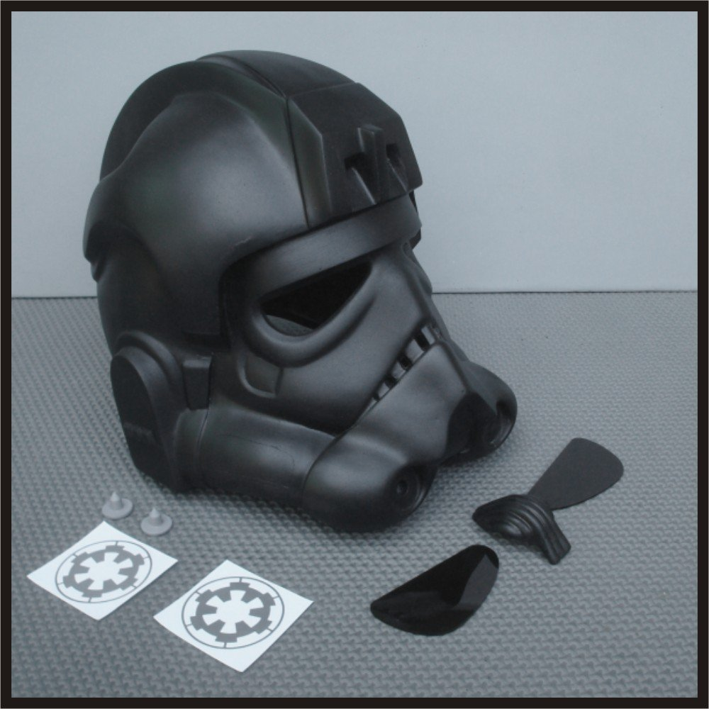 Custom Made Star Wars TIE Fighter Pilot Life Size Helmet Prop Kit