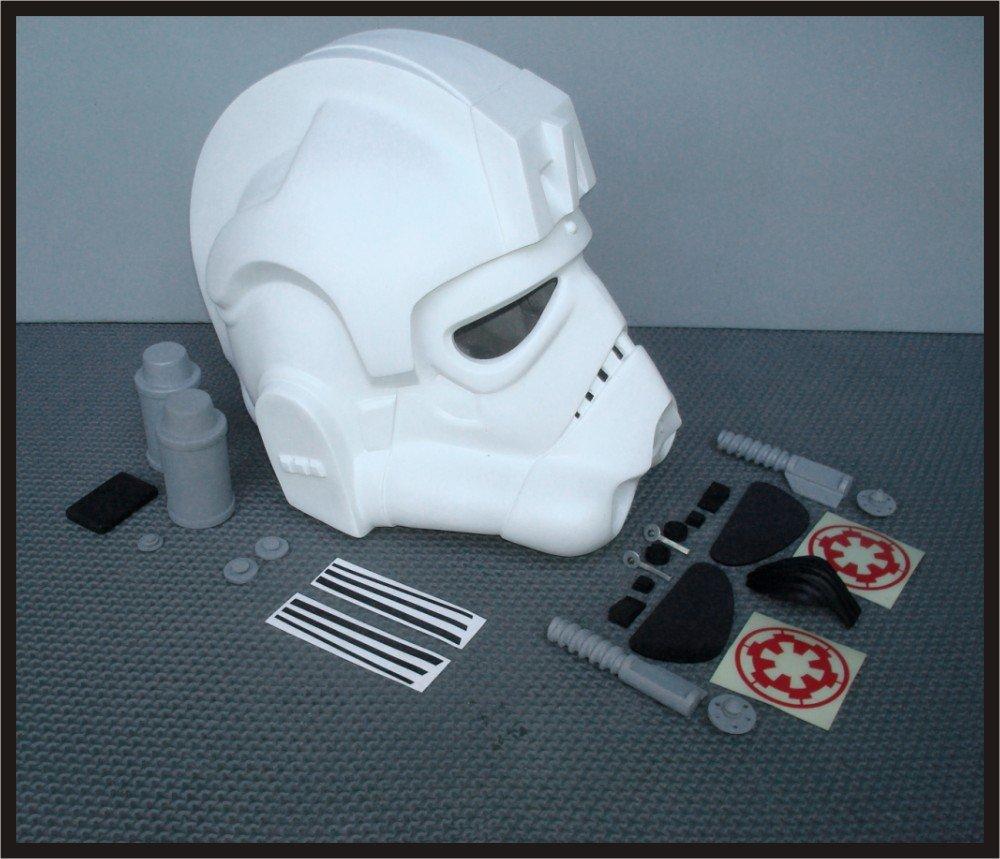Custom Made Star Wars AT-AT Driver Life Size Helmet Prop Kit
