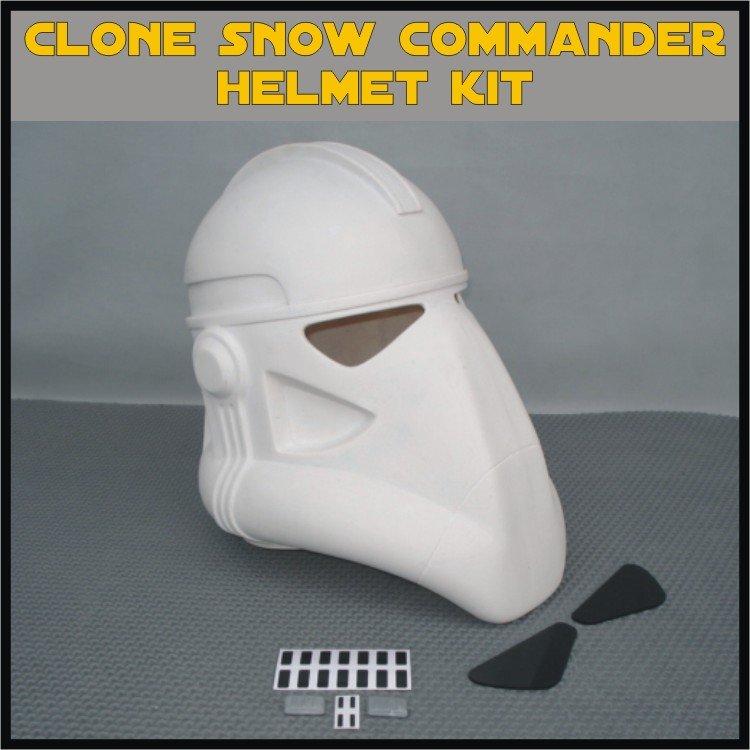 Custom Made Star Wars Clone Trooper Galactic Marine Commander Life Size Helmet Prop Kit