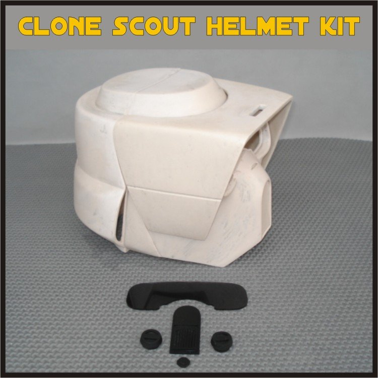 Custom Made Star Wars Clone Trooper Scout Life Size Helmet Prop Kit