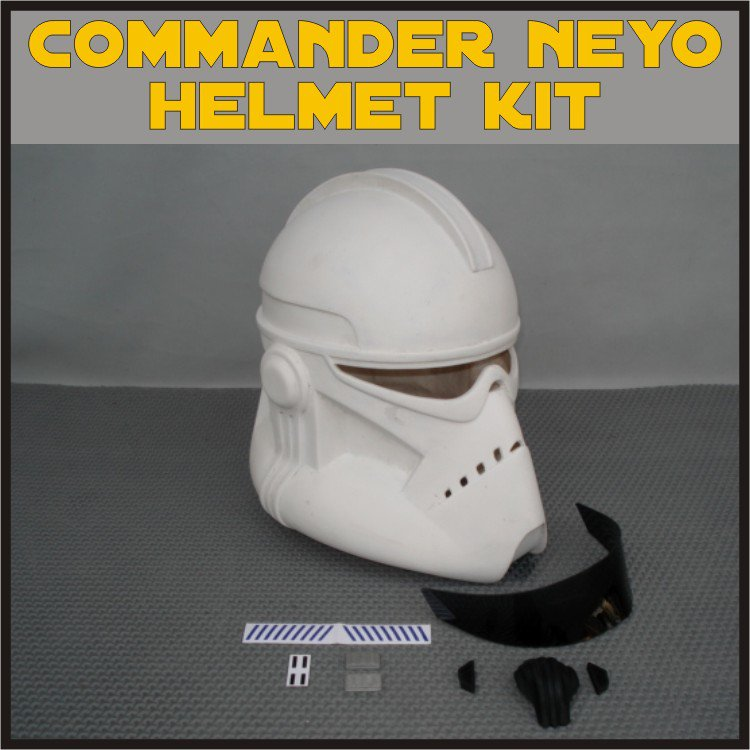 Custom Made Star Wars Clone BARC Trooper Life Size Helmet Prop Kit