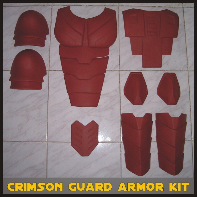 Custom Made Star Wars Royal/Crimson Guard Life Size Armor Prop Kit