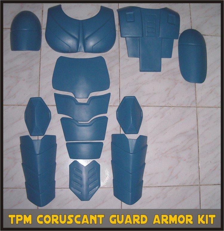 Custom Made Star Wars Coruscant Senate Guard TPM Life Size Armor Prop Kit