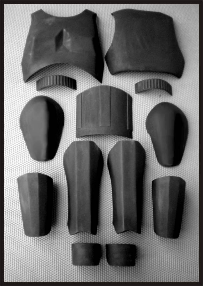 Custom Made Star Wars Shadow Guard Life Size Armor Prop Kit